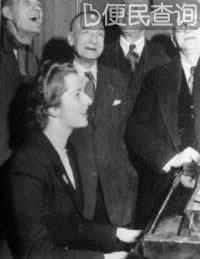 玛格丽特·撒切尔成为英保守党第一位女领袖