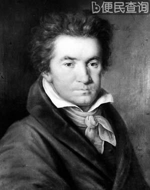 乐圣贝多芬逝世