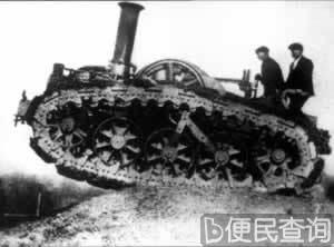 """坦克在""""一战""""中首次使用大显神威"""