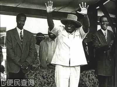 扎伊尔总统蒙博托下台