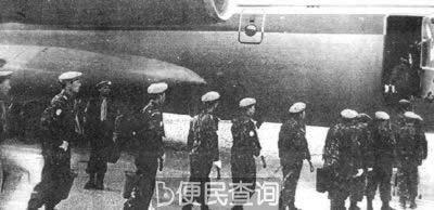 中国首次派出联合国维和人员赴金边