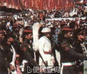 尼泊尔国王比兰德拉在加德满都举行加冕仪式