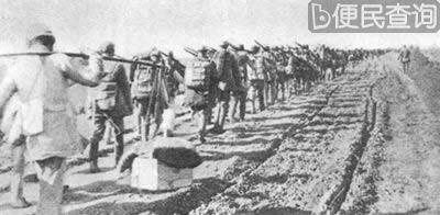 中共军队分三路急进东北