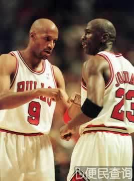 芝加哥公牛队第六次夺得NBA冠军