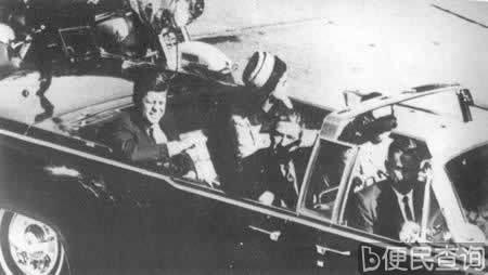 美国总统肯尼迪遇刺身亡