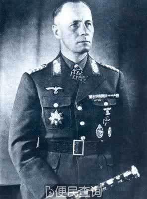 德国陆军元帅隆美尔被迫自杀