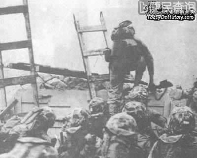 美军在仁川成功登陆