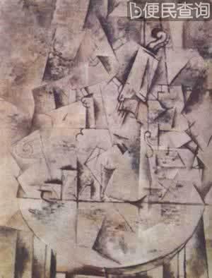 画家乔治·布拉克获威尼斯奖