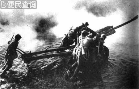第二次世界大战苏军进攻到据柏林50公里的奥得河沿线
