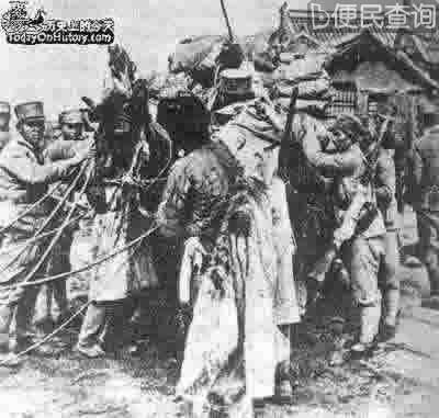 """国民党向红军发起第二次""""围剿"""""""