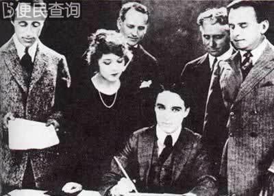 卓别林等建立自己的电影公司