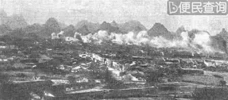 日军包围桂林