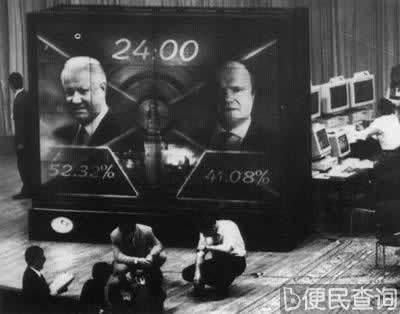叶利钦当选俄罗斯联邦总统