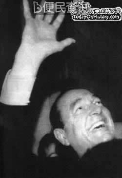 希拉克再次当选法国总统