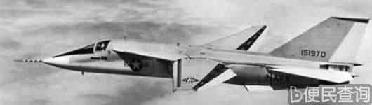 F-111战斗轰炸机正式交付美国空军使用