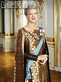 玛格丽特二世登基 丹麦历史上第二位女君主诞生