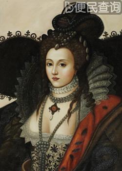 英国女王伊丽莎白一世加冕