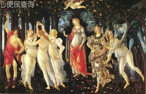 欧洲文艺复兴早期的画家桑德罗·波提切利逝世