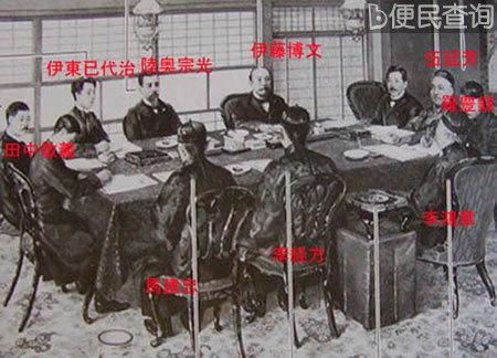 日本与清政府签订《马关条约》,割让台湾、澎湖列岛