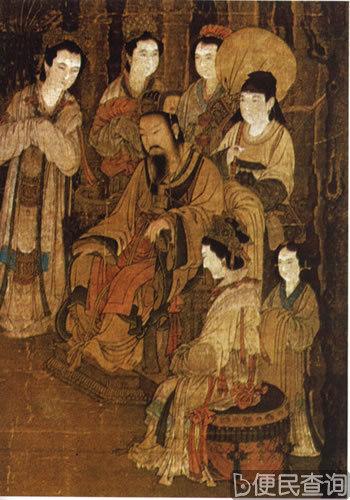 汉文帝刘恒出生