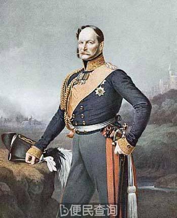普鲁士国王腓特烈·威廉一世出生