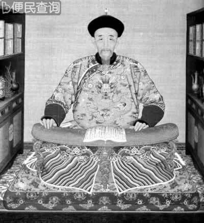 清朝康熙皇帝在景仁宫中诞生
