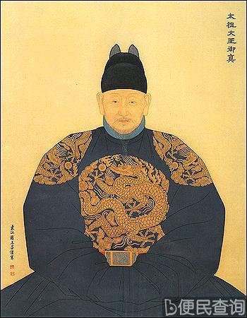 朝鲜太祖李成桂逝世