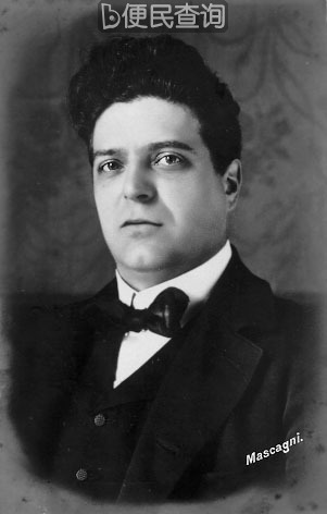 意大利作曲家马斯卡尼诞生