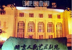 北京人民艺术剧院成立